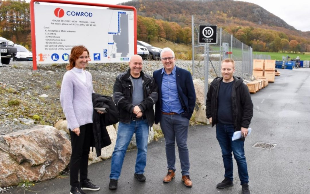 Comrod Acquires Sørskår Mekaniske Verksted AS
